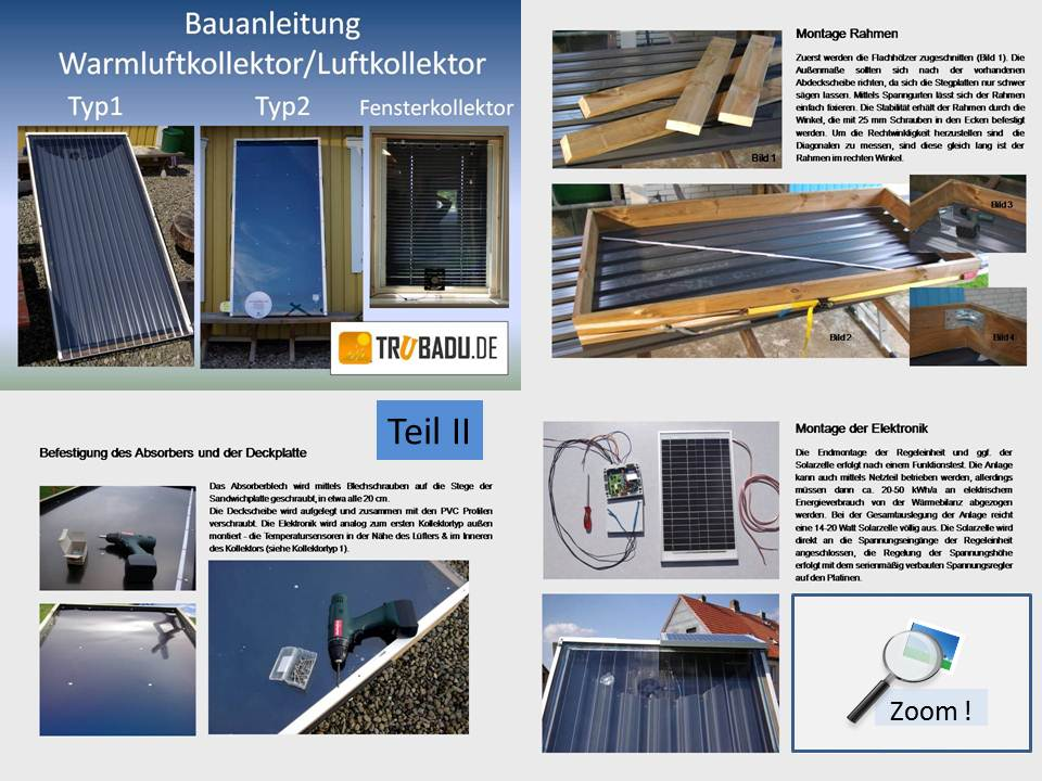 bauanleitung solar luftkollektor typ fassaden und warmluftkollektor einfach selber bauen. Black Bedroom Furniture Sets. Home Design Ideas